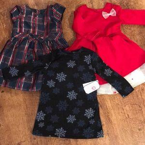 2T winter dresses